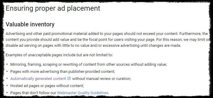 Adsense Per Page Ad Unit Limit New Policy