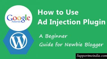 How to use ad injection plugin