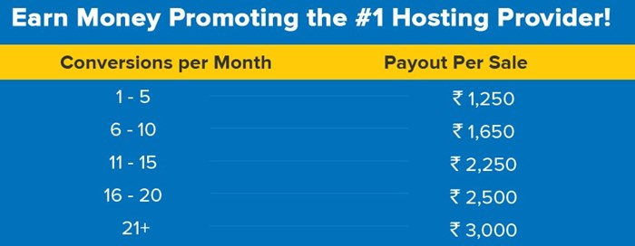 Hostgator india affiliate commission