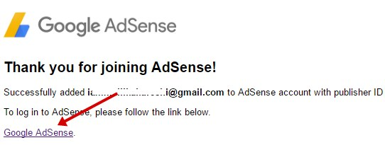 thank you ro joining adsense