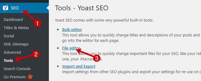 tools yoast seo