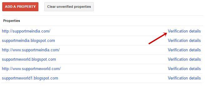 verification property details