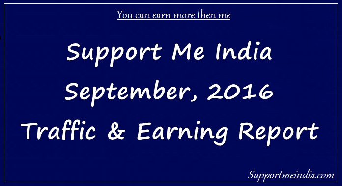 Hindi blog traffic and income report