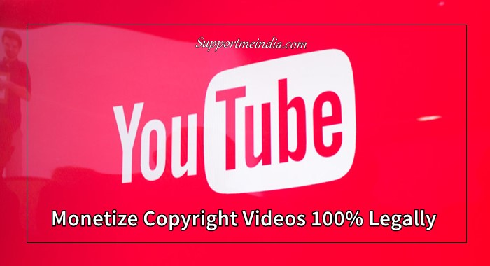 monetizelegally copyrighted videos on youtube
