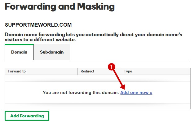 forwarding domain