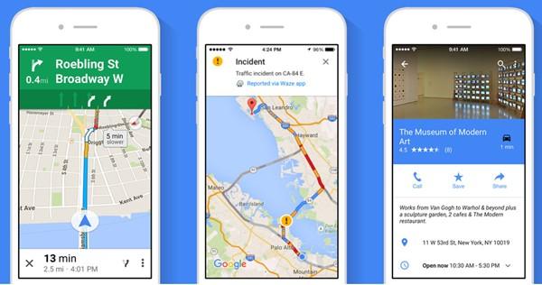 use offline google maps