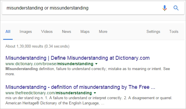 word confusing