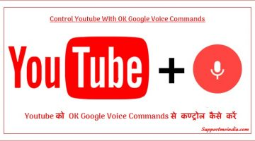 Control Youtube VIdeos With OK Google Voice Commands