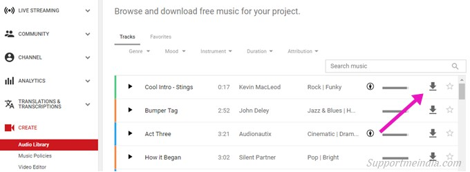 Get Free Audio for Youtube Videos