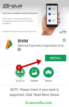 Install BHIM App