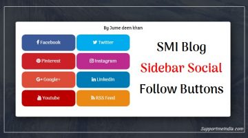 SMI Blog Social Media Follow Button Icons