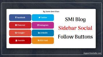 SMI Blog Social Media Follow Button Icons
