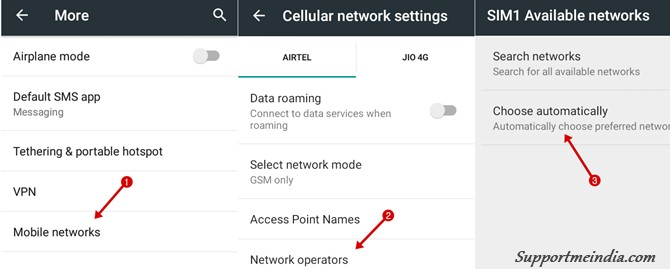 Automatically Choose Preferred Network