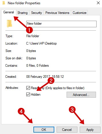 Hide and Show Files on Computer