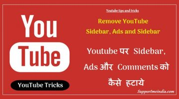 Remove Youtube Sidebar, Ads and Comments