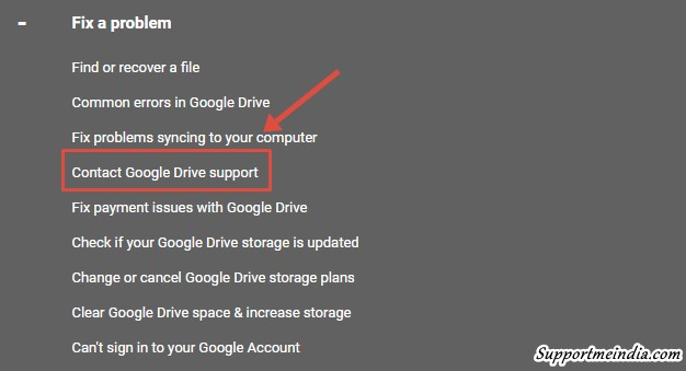 Fix google drive problems