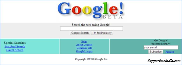 Google Look 1998