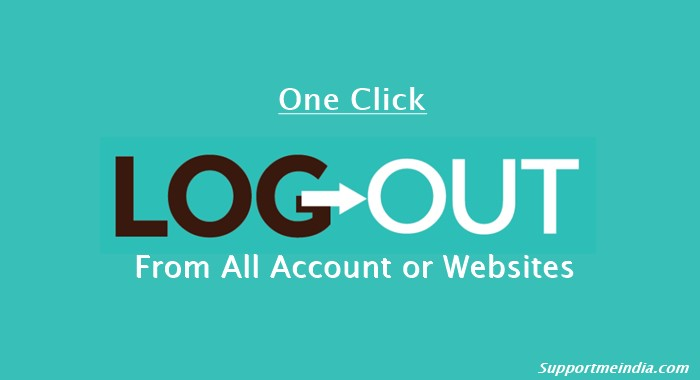 One Click Logout All Account
