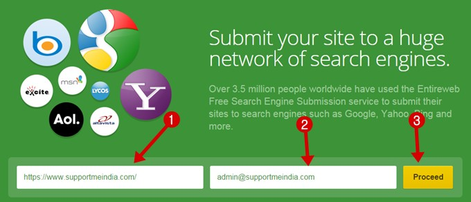 Submit Site to All Search Engines
