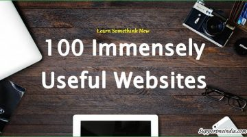 Top 100 Immensely Useful Websites