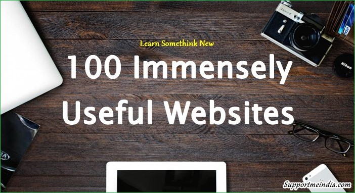 100 Useful Websites Jo Har Internet User Ke Kaam Aati Hai