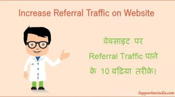 Increase Referral Traffic On Your Website