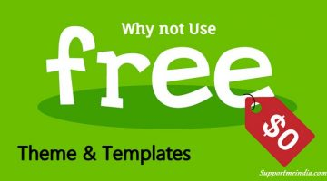Why not use free theme or templates