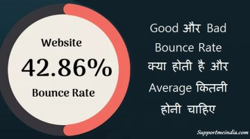 Good Bad Ugly and Average Bounce Rate