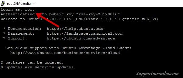 Access droplet via SSH