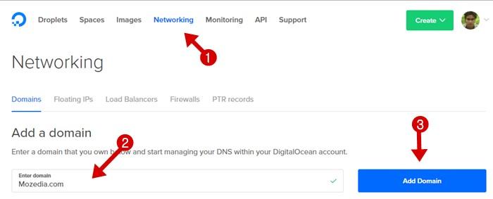 DigitalOcean Networking