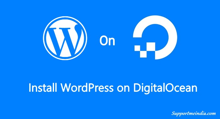 Install WordPress on DigitalOcean