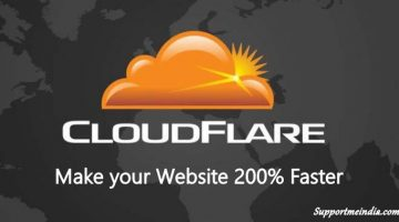 Speed up Website Using Cloudflare