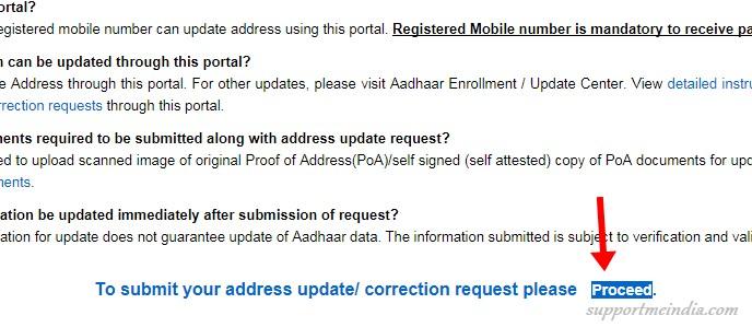 Aadhaar Self Service Update Portal