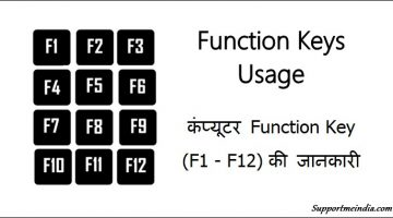 Function Keys Usage