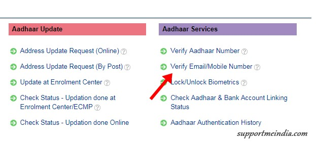 Verify Email Mobile Number