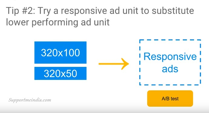 Try Responsive Ad units