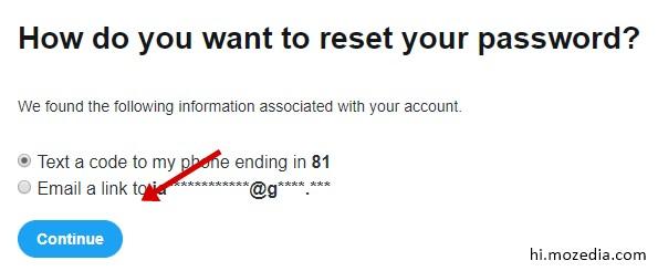 Twitter Account Ka Password Kaise Change Kare