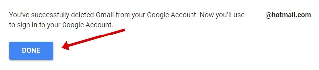 Delete Google Gmail Account 5
