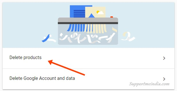 how to delete the google account