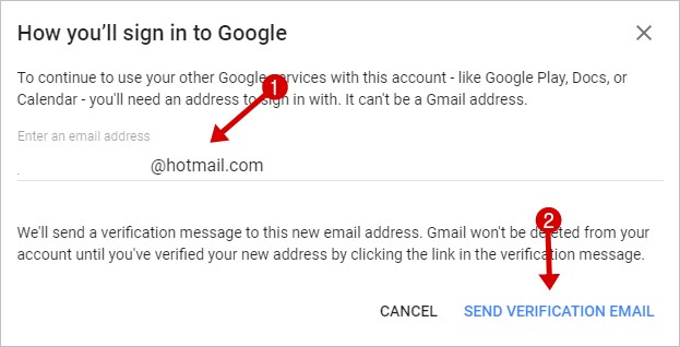 Delete your Google Gmail Account Permanently