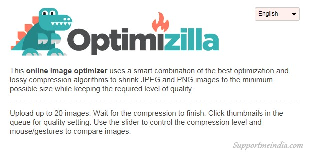 Optimizilla - Free Image Optimization Tools