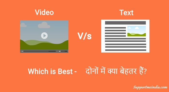 Video vs Text Content