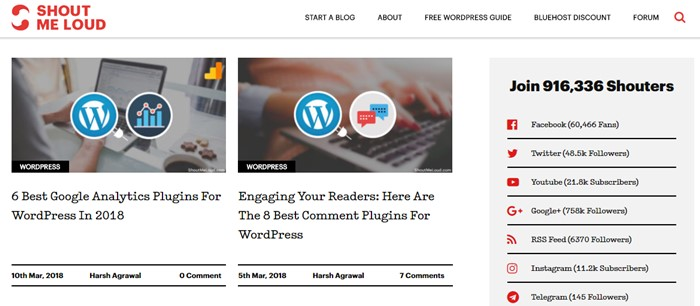 Learn WordPress with ShoutMeLoud