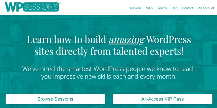 Learn WordPress with WP Sessions
