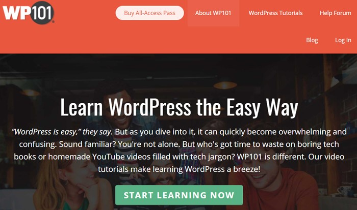 Learn WordPress with WP101