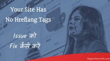 Your Site Has No Hreflang Tags
