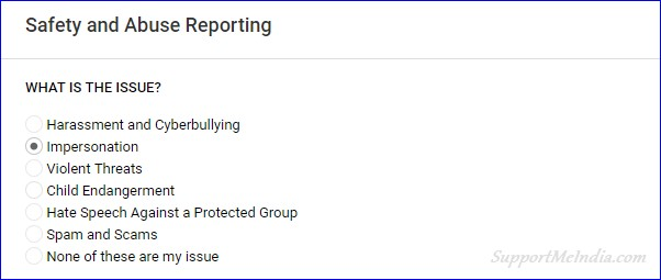 Report abusing