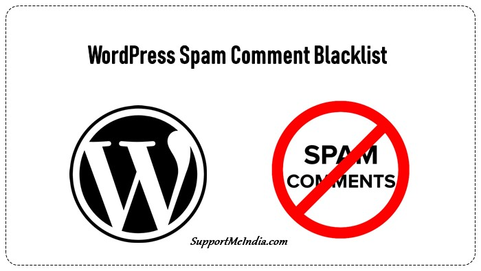 WordPress Spam Comment Blacklist