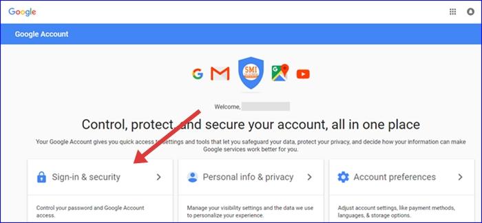 Google Account Privacy