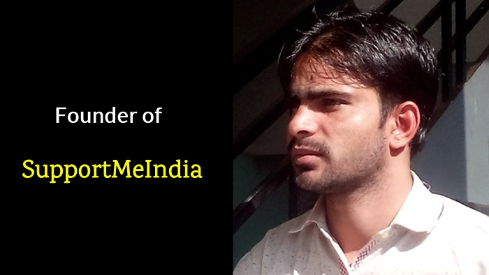 Founder of SupportMeIndia